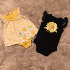 🌻🌻Romper and fashionable onesie 🌻🌻